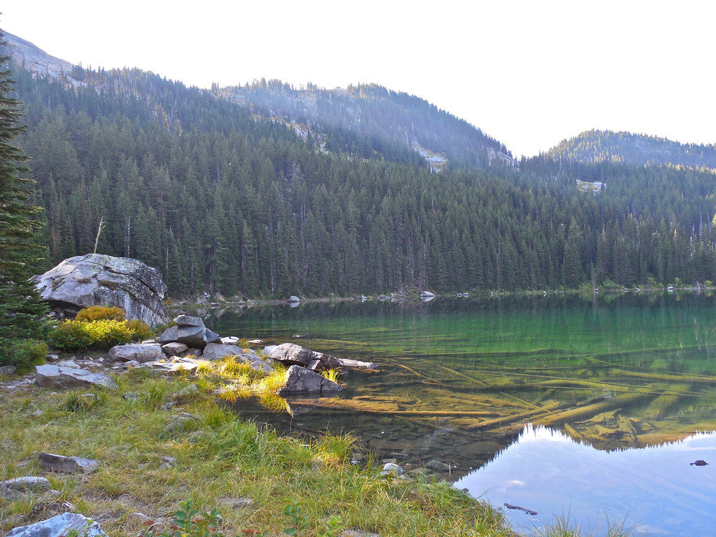 Revett Lake on Montana - Idaho border near Thompson Pass
