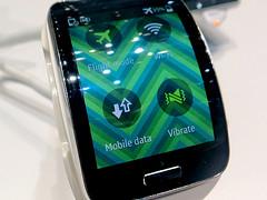 Samsung Gear S (Smartwatch auf der IFA)