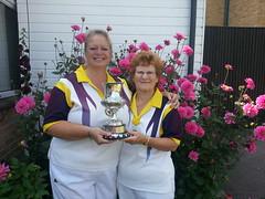 Ladies County Pairs Champions