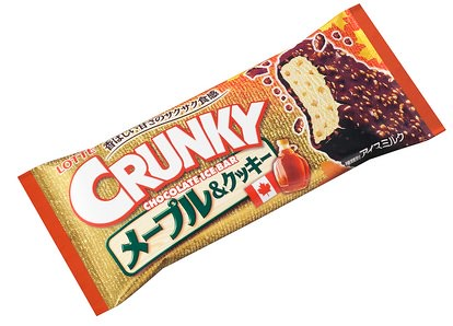 『クランキーアイスバー メープル&クッキー』