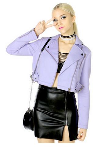 Lavender jacket