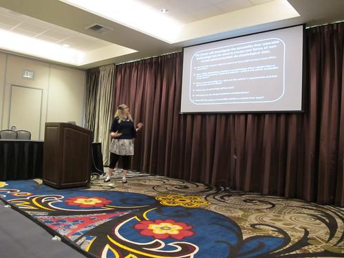 Presenting at the Doctoral Colloquium