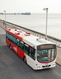 ROSSO Volvo (No 245) Bus Driver of the year award @ Blackpool 14.09.2014