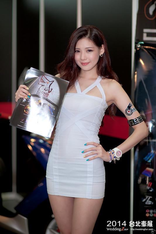 2014台北車展 show girl,27