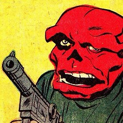 The Red Skull by Jack Kirby. #comics
