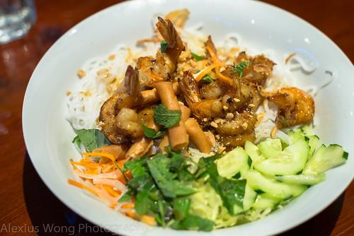 Shrimp Bun Noodle Salad