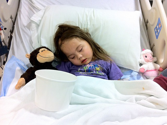 Harleigh in Hospital for Treatment