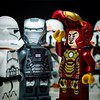 Bet you your helmet can't do this! #lego #legoironman #legowarmachine #starwars #ironman #warmachine #clonetroopers