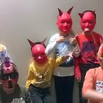 Atelier de masques d'Halloween