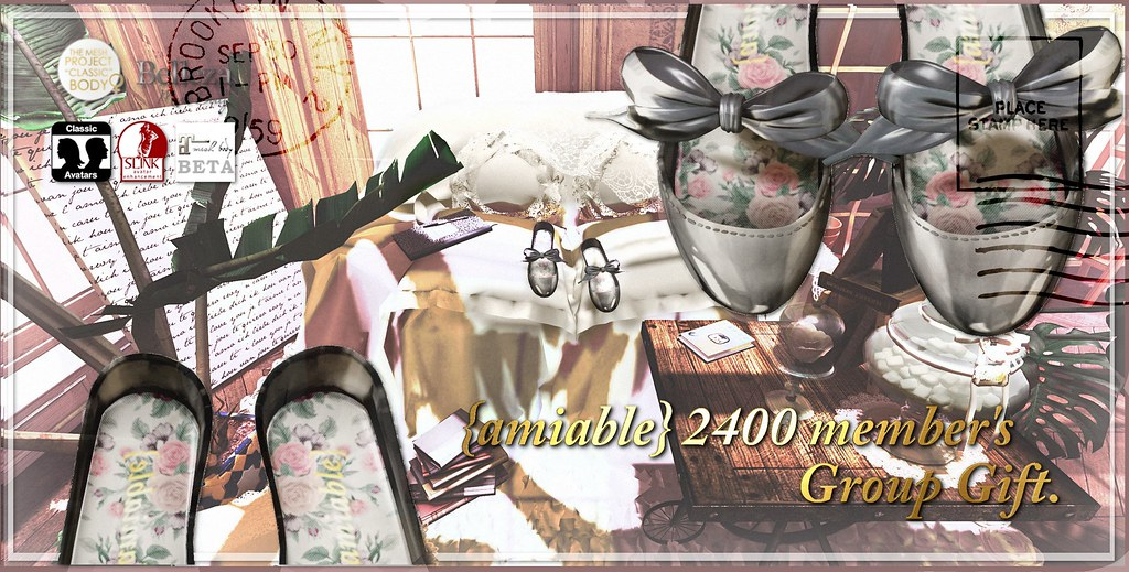 {amiable}2400member's Group Gift @main store (Halloween Gift).