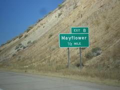 US-40 West - Exit 8
