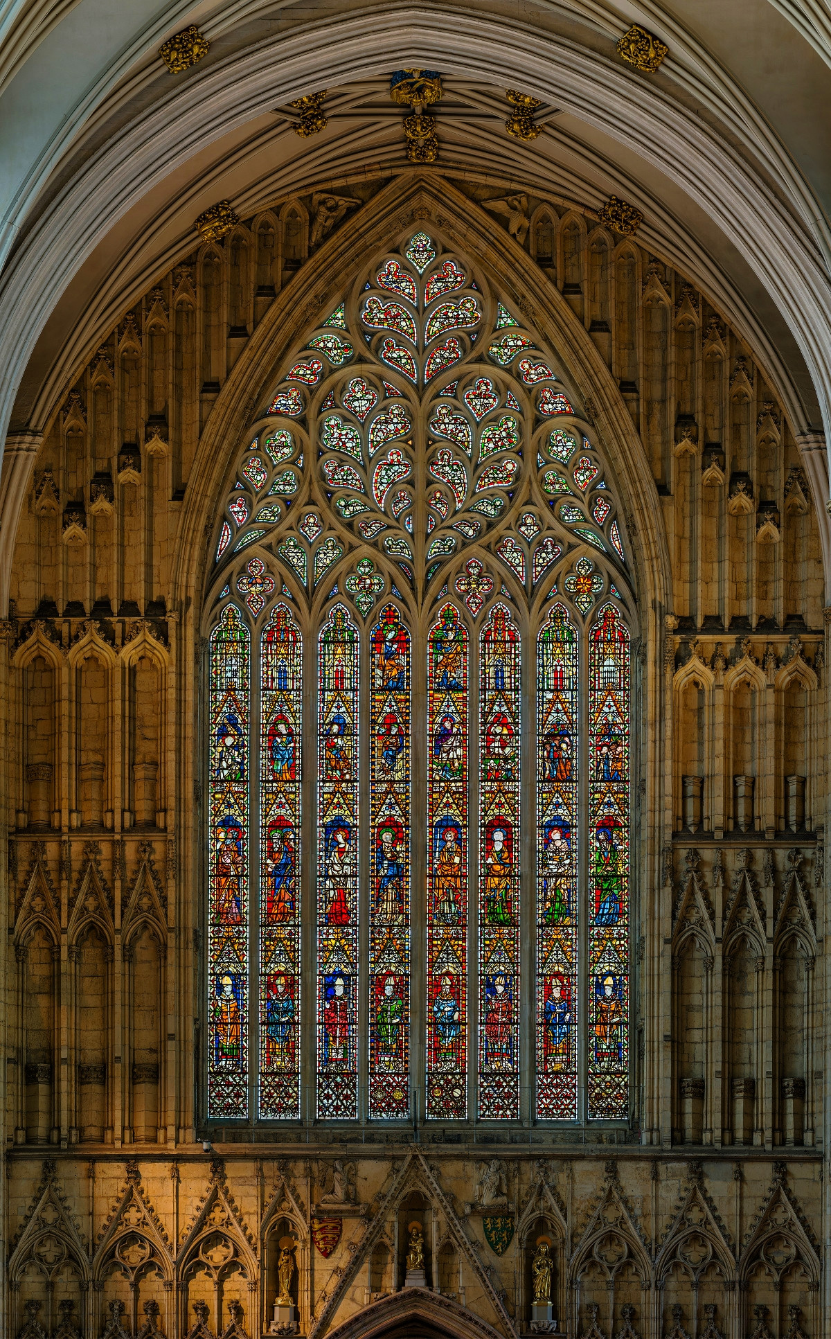 The west window. Credit David Iliff