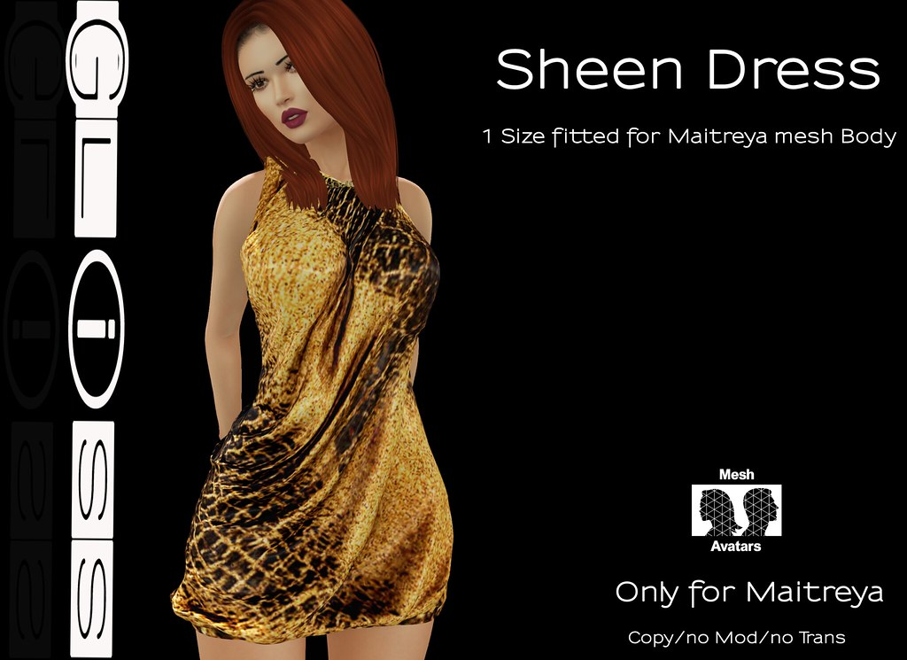 Gliss - Sheen Dress - SecondLifeHub.com