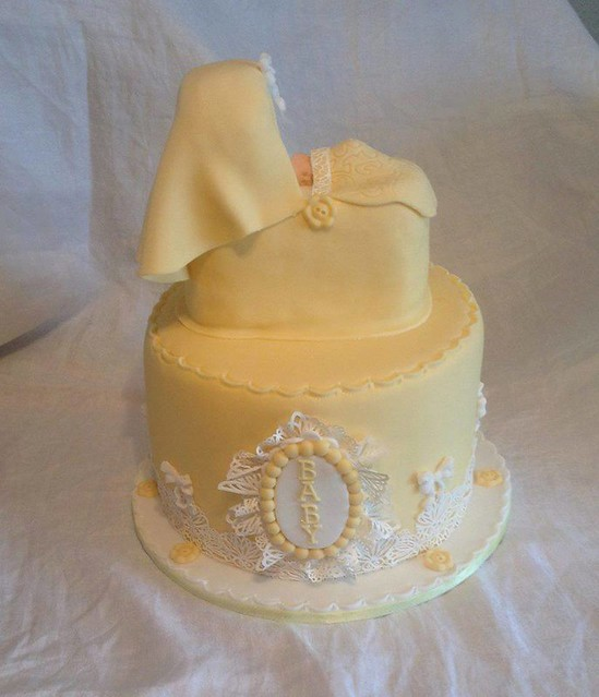 Baby Shower Cake by Sharon Rout of Bake A Cake WSM