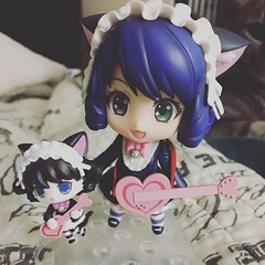 @ms_tea said the #Cyan #nendoroid was on sale so I figured if it was still available when I made it to @animepopshop this evening I'd get it! And she was!!! So adorable >w< #showbyrock #anime #figure #weeb