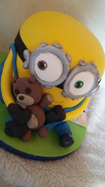 Minion Cake by Clara Rodriguez of TIGGYS CAKES