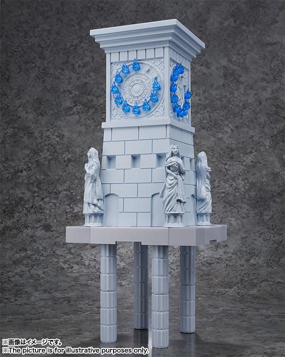 『D.D.PANORAMATION』黄金十二宮擴張用! 聖域的火時計 -雅典娜女神和士兵-