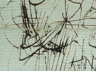 MILLET Jean-François,1850 - Départ pour le Travail, Etude - The Walk to Work  (drawing, dessin, disegno-Louvre RF11191) - Detail 56