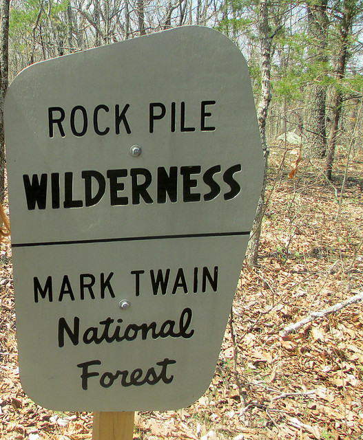 Local Treks: Rock Pile Wilderness Sign