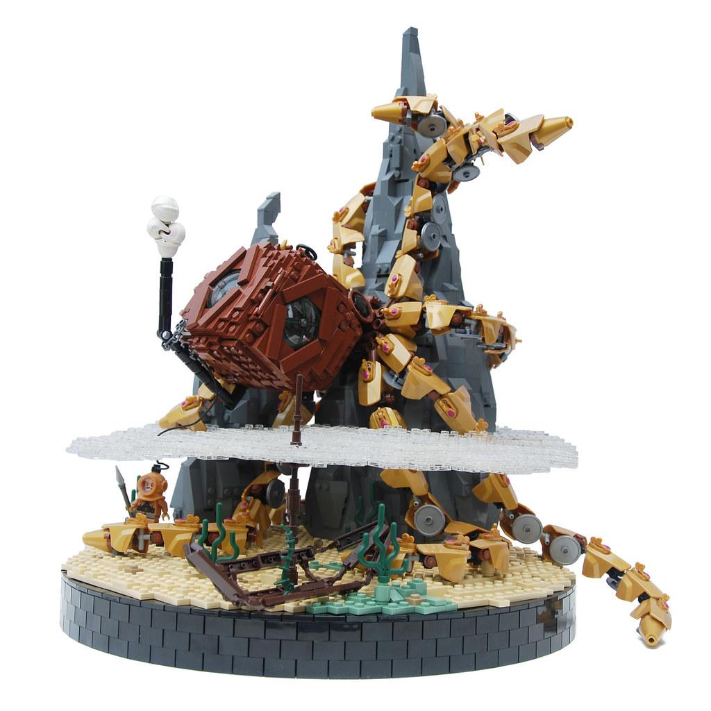 Steampunk Kraken