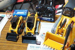 model car, machine, vehicle, robot, construction equipment, bulldozer, toy,