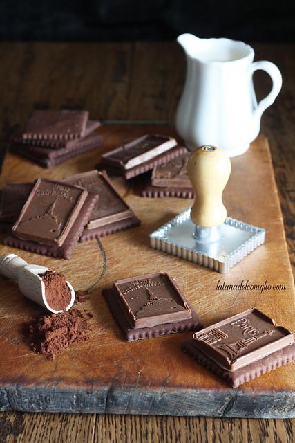 Petit-Beurre al cacao e cioccolato al latte