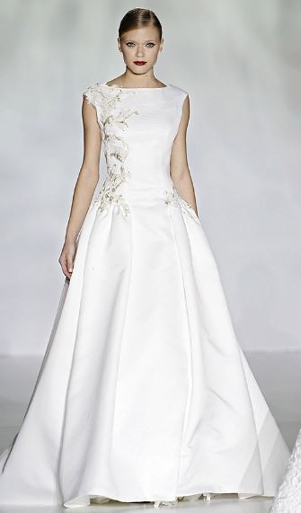 patricia avendaño  Barcelona Bridal Week 2014
