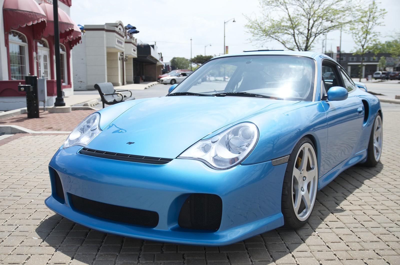 Minerva Blue 996 Turbo With Ruf Rturbo Conversion Over