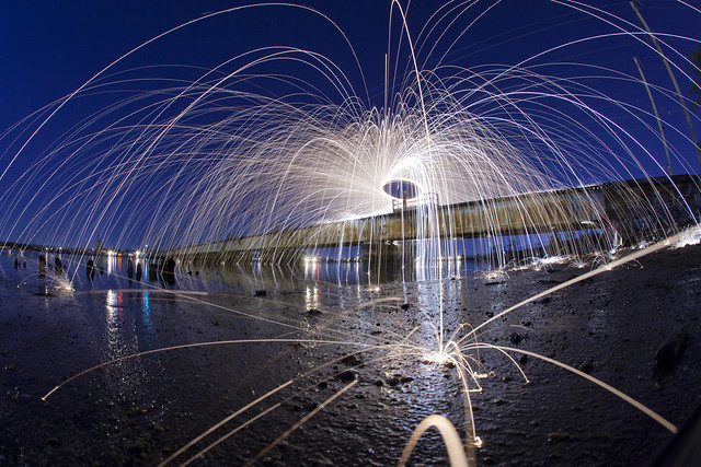 Steel Wool Photography in New Jersey