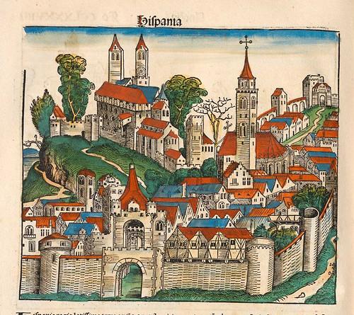 005- España-Liber Chronicarum-1493-Biblioteca Estatal de Baviera
