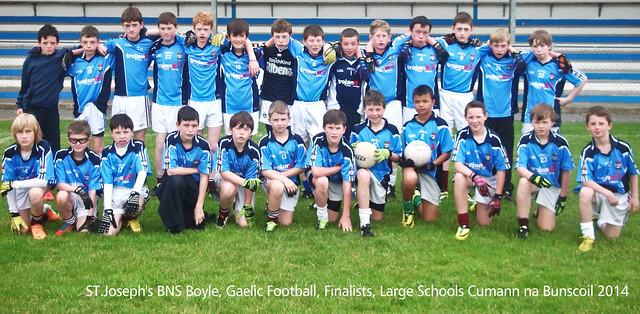 St. Joseph's BNS GAA team 2014