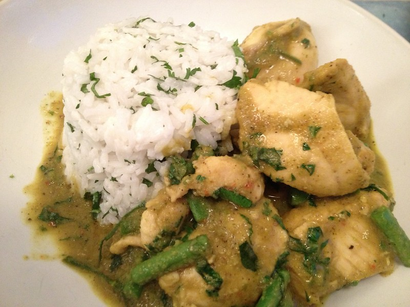 Thai Green Curry : Thai Green Curry