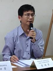 地球公民基金會董事詹順貴指出,自經區特別條例只讓台灣諸法皆空,財團自由自在。
