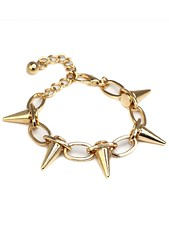 Spike-Gold-Plated-Bracelet