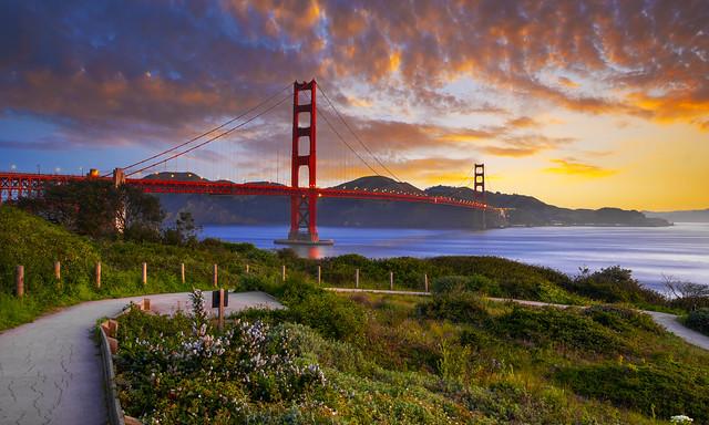 мост, пролив, Америка