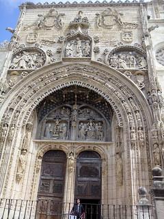 Iglesia de Santa María, una de las que comparten la sede de Las Edades del Hombre.