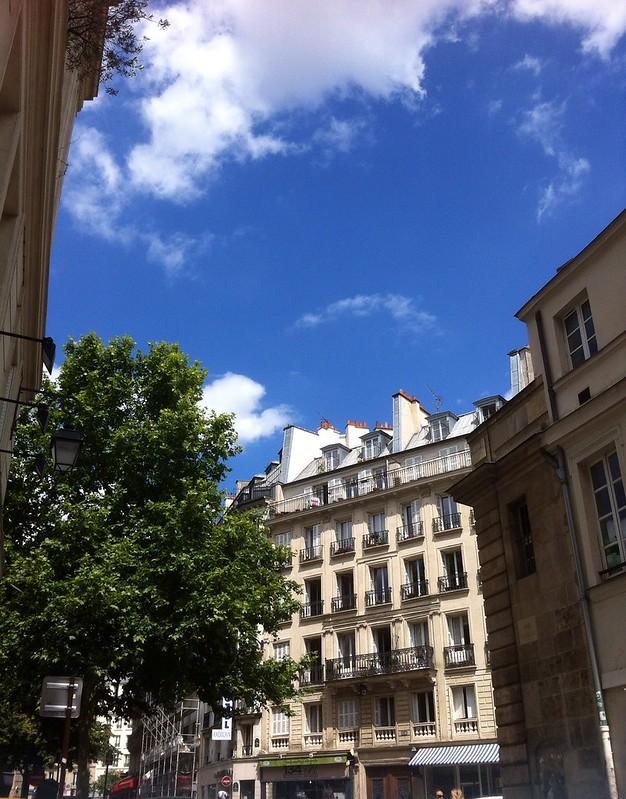 Blue Skies over Paris