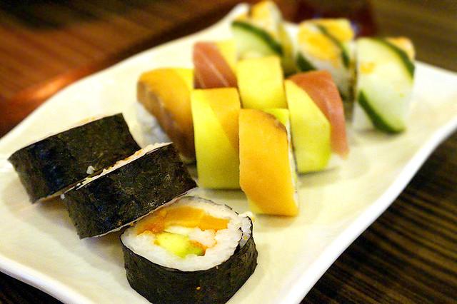 Genji M Sushi Rolls and Maki