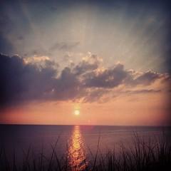 Glorious rays  #rkramer62 #sunsetblessings #sunrays #sunset #CRCG #puremichigan #beachchallenge