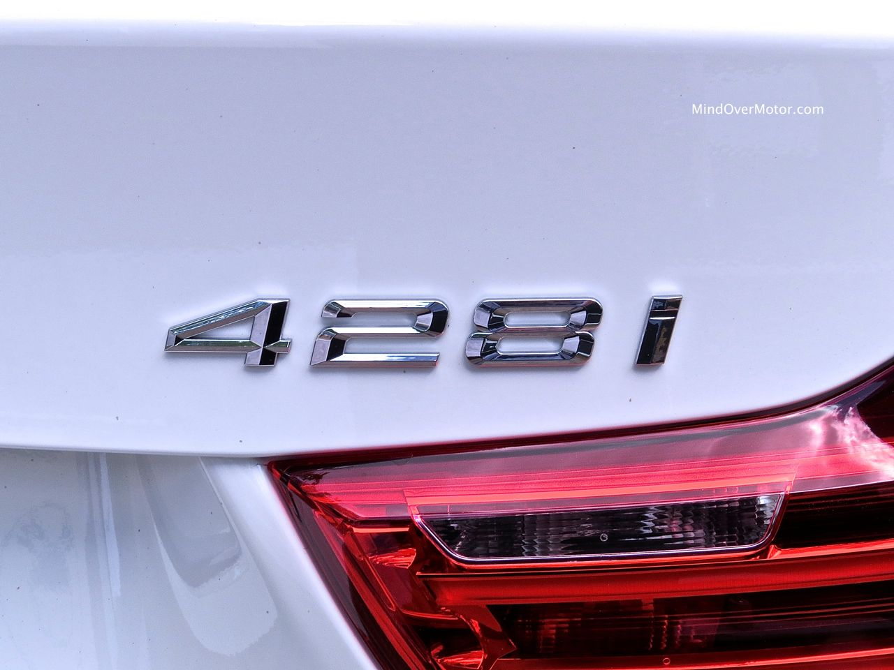 BMW 428i Badge