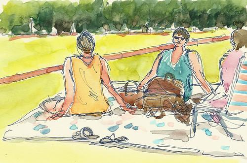 Spectators, Greenwich Polo Club, Greenwich, CT