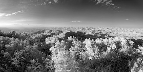 vacation sky blackandwhite bw panorama terrain usa mountain tree weather georgia landscape ir clear explore infrared features edrosack