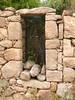 1ère maison de Ghjuncaghjola : fenêtre à linteau de pierre