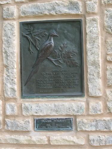 Passenger Pigeon Memorial, Wyalusing State Park