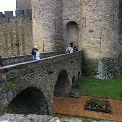 It's real. #carcassonne #moat