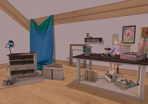 Quick Snap - My new craft area