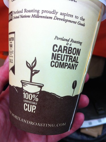 Carbon neutral and compostable