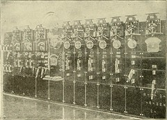 "Image from page 311 of ""Cyclopedia of applied electricity : a general reference work on direct-current generators and motors, storage batteries, electrochemistry, welding, electric wiring, meters, electric lighting, electric railways, power stations, swit"