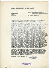 116. A bécsi nagykövetségnek szóló belső tájékoztató az osztrák kormány kérésével kapcsolatban