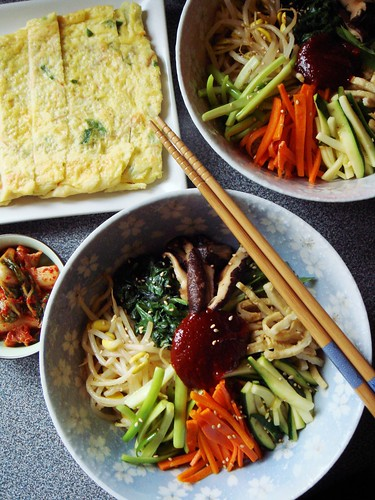 Bibimbap: Korean Rice Bowl